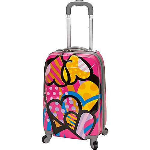 20'' Vision Polycarbonate Carry-On Love by Tabletop King