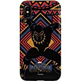 Black Panther iPhone X Case - Black Panther Tribal Print | Marvel & Skinit Pro Case