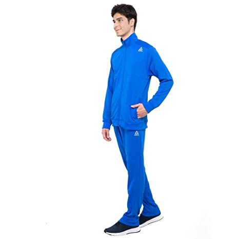 12750b717d7b Reebok Training Terry Tracksuit-XL Blue  Amazon.in  Clothing   Accessories