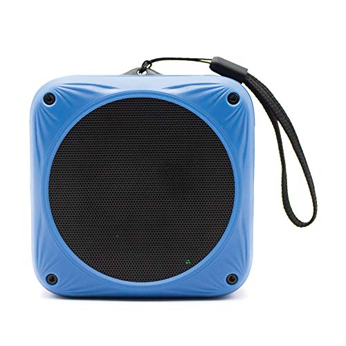 Suncat Waterproof Bluetooth Speaker | Solar & USB Rechargeable | 20H Playtime | Built-in Mic | Great for Beach, Bike, Pool, Shower, Travel | Wireless, Portable Speaker for iPhone, Samsung and More (Best Solar Bluetooth Speaker)