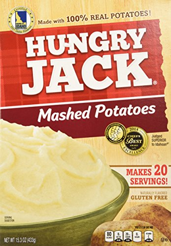 - Hungry Jack Mashed Potatoes, 15.3 oz