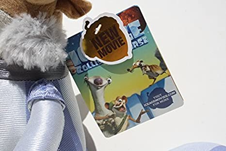 Amazon.com: Astronaut Space Suit 11 Acorn Plush Squirrel Ice Age 5 Collision Course Teddy Bear Film: Toys & Games