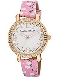 Laura Ashley Womens LA31005PK Analog Display Japanese Quartz Pink Watch