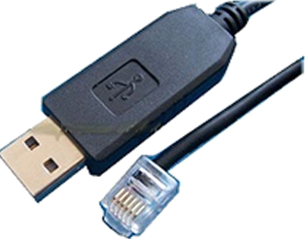 USB Serial Cable RJ11 Connector for Copley Drives 1.8m Long