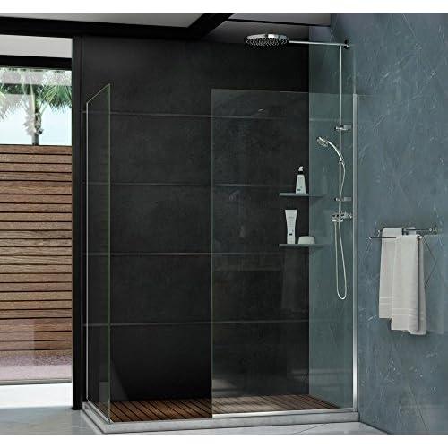 """DreamLine Linea 30 in. Width, Frameless Shower Door, 3/8"""" Glass, Chrome Finish durable modeling"""
