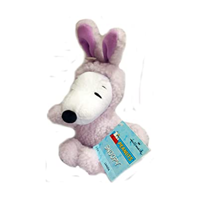 Hallmark Peanuts Plush Snoopy Easter Bunny Rabbit by Hallmark Snoopy: Toys & Games