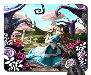 Alice in Wonderland Mouse Pad, Mousepad (10.2 x 8.3 x 0.12 inches)