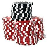 1/2 Sheet - Casino Poker Chips Las Vegas Birthday - D24033 - Edible Cake/Cupcake Party Topper