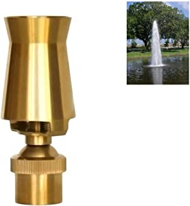 "NAVADEAL 2"" DN50 Brass Ice Tower Cascade Water Fountain Nozzle Spray Pond Sprinkler - for Garden Pond, Amusement Park, Museum, Library"