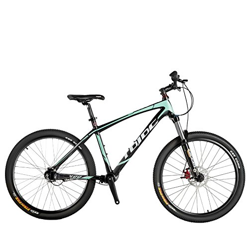Leader400 26インチノーチェーン自転車、シャフトドライブマウンテンバイク、アルミ合金フレーム、オイルディスクブレーキ B079PV24PR緑
