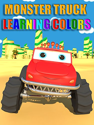 Monster Truck Learning Colors