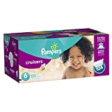 Pampers Cruisers Diapers Size-6 Economy Pack Plus, 104-Count- Packaging May Vary