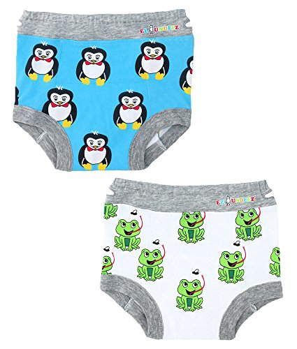 Ez Undeez Toddler Potty Training Pants With Padded Liner (2T, (Pull Up Socks)