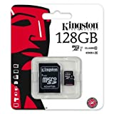 Keple | Yi 4K(Micro SD) Memory Card for Didital Camera | 128GB Kingston Class 10 SDHC SDXC