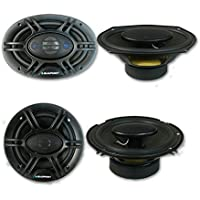 Blaupunkt 6x9 4-way Car audio speakers + 6.5 4-way Car audio coaxial Speakers (Pair)