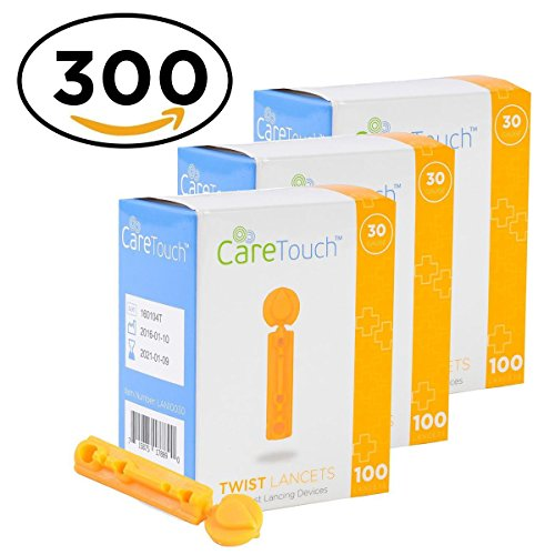 Care Touch Twist Top Lancets 30 Gauge, 300 (Blood Testing)