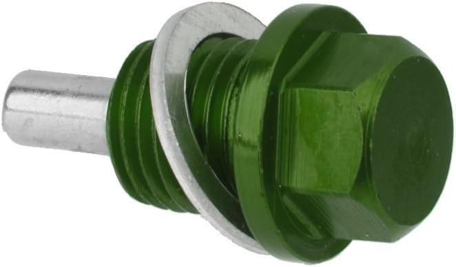 Titanium M12X1.25 M14X1.5 M20 Anodized Magnetic Oil Sump Drain Fill Plug Garage Tool