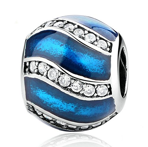 088c3030e New European Silver Plated Charm Bead Fit Sterling 925 Necklace Bracelet  #A098
