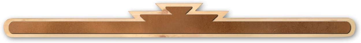 Rustic Wooden Rug Hanger - Santa Fe Accents (36in)