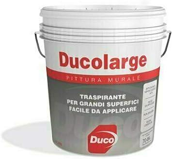 Ducolarge Promaster Duco Pittura Murale Per Interni Traspirante Litri 5 Amazon It Fai Da Te