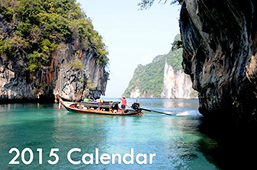 - 2015 Calendar - Daily Planner and Organizer for Tablets, Phones and Electrical Devices - Spectacular Beach Images
