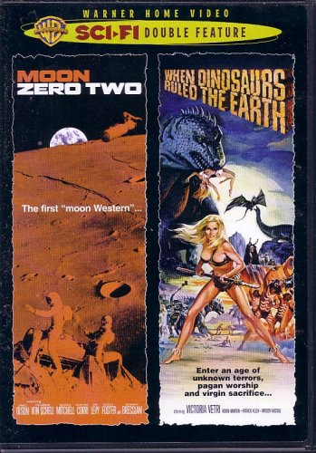 When Dinosaurs Ruled the Earth (1970) / Moon Zero Two (1969)