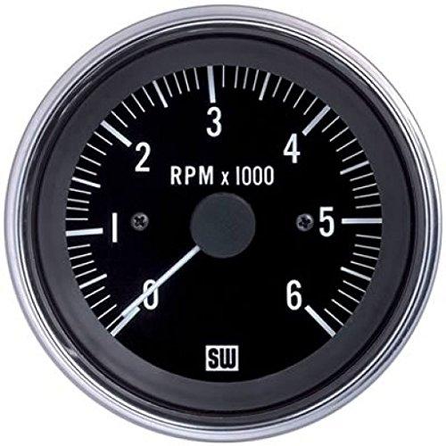 MAXIMA TECHNOLOGIES Stewart Warner Tachometer 0-6000 RPM