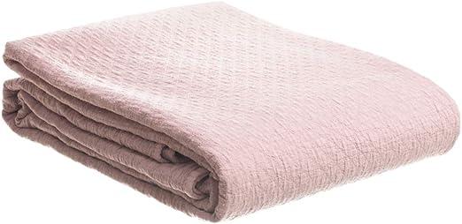 Colcha bouti con Textura Rosa para Cama 105 contemporánea de