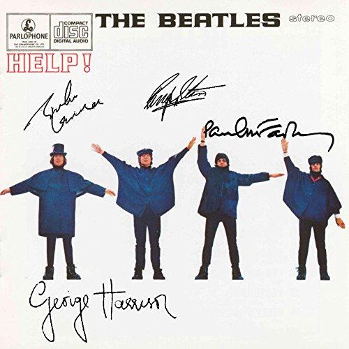 The Beatles Signed Autographed Help Record Album Cover LP Autographed Signed Facsimile