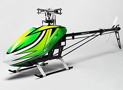 HobbyKing Assault 700 DFC Electric Flybarless 3D Helicopter Kit (w/Upgrade swashplate and Tail Slider)(USA WH) (Helicopter Flybarless Electric)