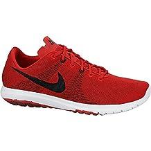 Nike Flex Fury Men Running Shoe University Red Black White 705298-600