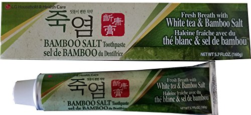 Health Care Toothpaste - [LG] White Tea & Bamboo Salt Toothpaste 5.7oz (Pack of 6)
