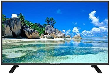 Skyworth 32 pulgadas E300O — T2 Monitor de PC (mediante puerto HDMI), TV LED HD Ready 1366 x 768, DVB-T/T2 2 x HDMI USB, Toma de euroconector: Amazon.es: Electrónica