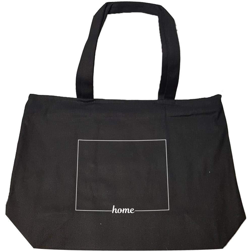 Wyoming State USA Pride Home - Fashion Zip Tote Bag