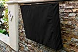 "Outdoor TV Cover 30"" - 32"" Black Weatherproof Universal Protector for LCD, LED, Plasma Television Screens. Built in Bottom Cover and Remote Storage. Compatible with Standard Mounts and Stands."