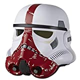 SW Star Wars Black INCINERATOR Trooper Electronic Helmet