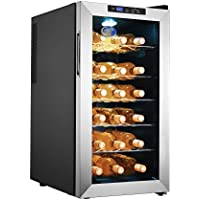 5330 Electro Boss | 18 Bottle Thermoelectic Wine Cooler | Stainless Steel Wine Fridge