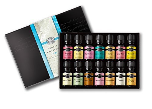 - Summer Set of 14 Premium Grade Fragrance Oils - 10ml