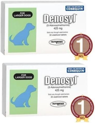 Nutramax Denosyl 425 mg Large Dog 60ct 2 x 30ct