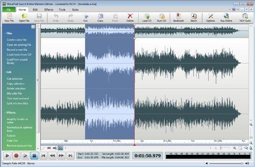 Amazon com: WavePad Sound Editor Masters Edition [Download