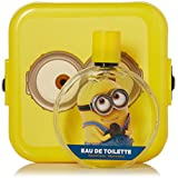 Minions 2 Piece Gift Set with Edt Spray and Minion Box for Kids