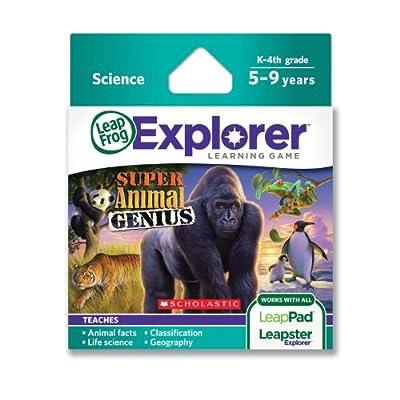 Leapfrog Explorer Learning Game Animal Genius from LeapFrog