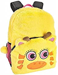 Critter Backpack Cute Fun and Stylish Yellow Giraffe