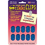 SCBSTK01135-14 - STIKKICLIPS BLUE 10/PK pack of 14