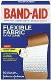 Johnson & Johnson 005685 Flexible Fabric Adhesive Bandage, XL (Pack of 240)