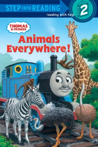 Download Animals Everywhere! (Thomas & Friends) (Step into Reading) PDF