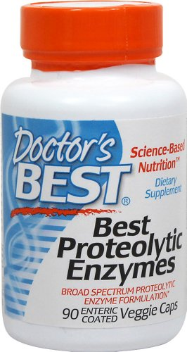 Doctor's Best Best Proteolytic Enzymes-90 Vegi Caps For Sale