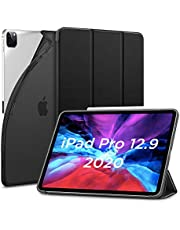 ESR for iPad Pro 12.9 Case 2020 & 2018, Rebound Slim Smart Case with Auto Sleep/Wake [Viewing/Typing Stand Mode] Flexible TPU Back with Rubberized Cover for 12.9‑inch iPad Pro