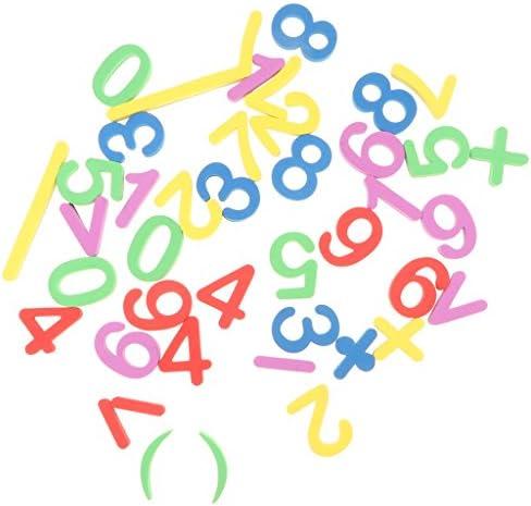 EVA材質 早期おもちゃ 幾何学 動物形 アルファベット 数字など 冷蔵庫マグネット ステッカー 教育玩具 全5色 - #4