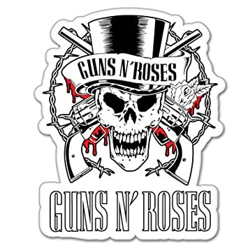 Amazoncom Guns N Roses Vynil Car Sticker Decal Select Size - Car sticker decal